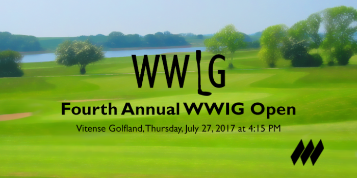 4th Annual WWIG Golf Open