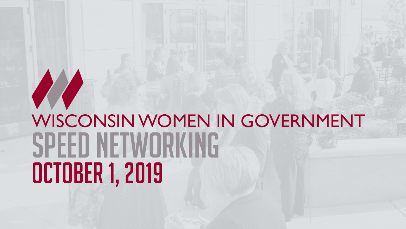 Speed Networking Wisconsin Women In Government